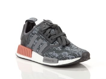 e0d3e8864 Adidas NMD R1 Gris Mujer BY9647