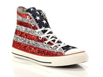 All Star Hi Textile Glitter G5khy