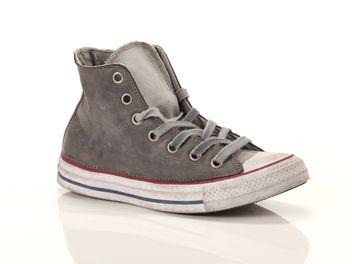 converse all star ox platform canvas ltd gris