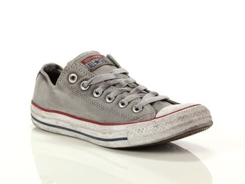 Converse Chuck Taylor All Star Distressd Hi Gris